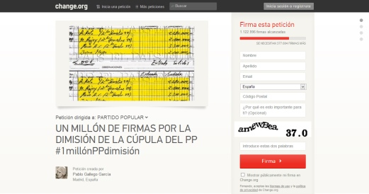 CHANCE ORG PIDE dimision RAJOY