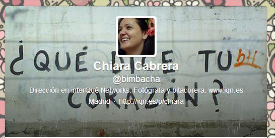 Chiara_Bimbacha_Tuit Entrevista
